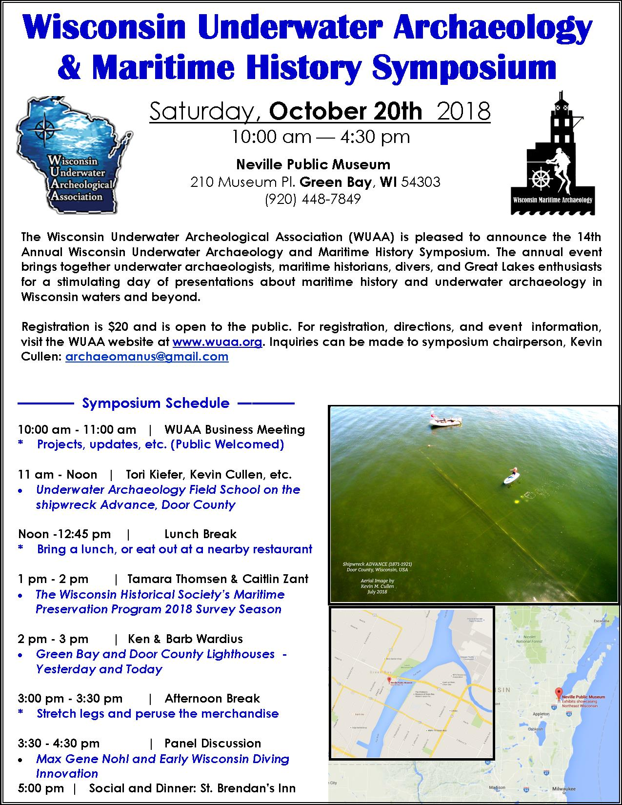 WUAA Symposium on Saturday October 20th