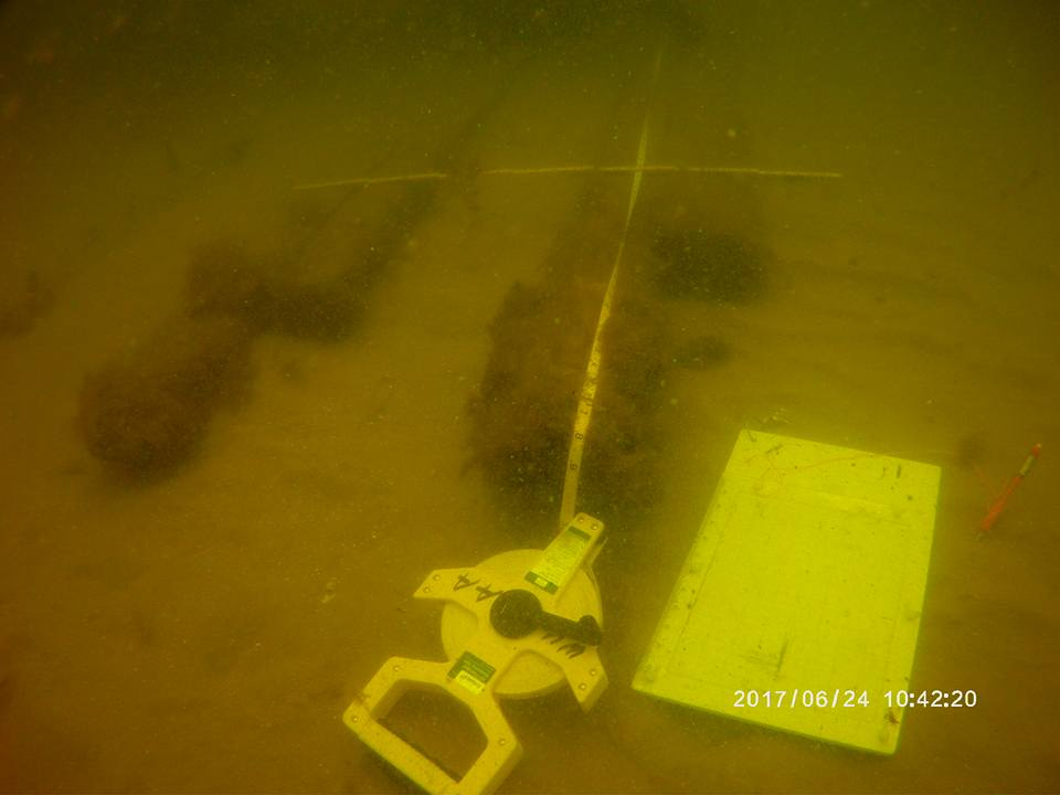 This is what underwater Archaeology looks like!